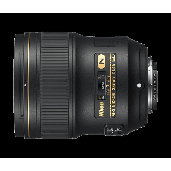 Objetivo Nikon AF-S 28mm f/1.4E ED (Garantía Nikon España finicon)