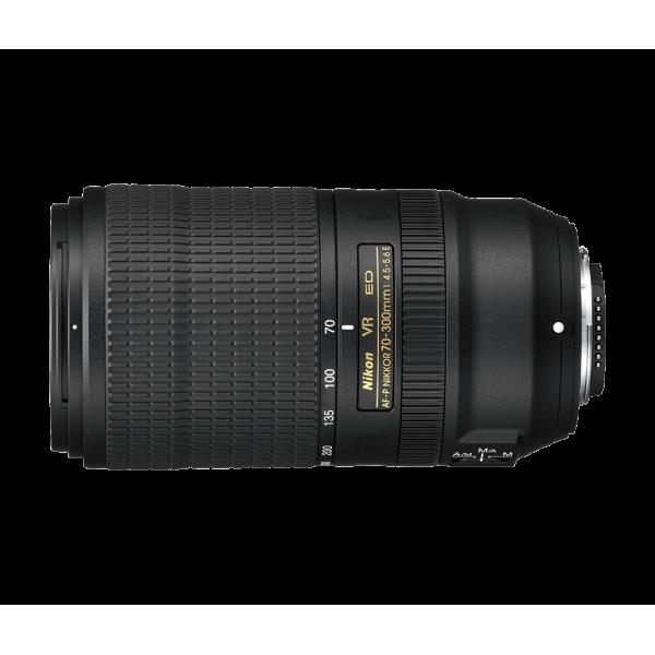 Objetivo Nikon AF-P 70-300mm f/4.5-5.6E ED VR (Garantía Nikon España Finicon)