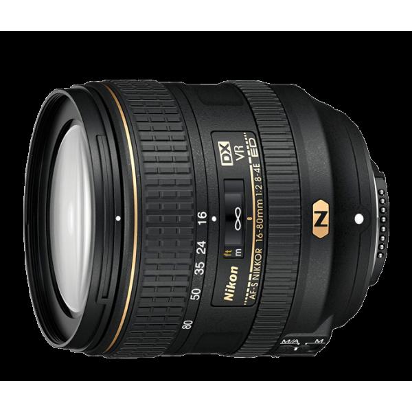 Objetivo Nikon AF-S DX 16-80mm f/2.8-4E ED VR (Gar...