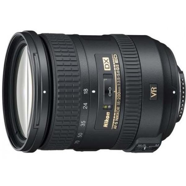 Objetivo Nikon AF-S DX 18-200mm f/3.5-5.6G IF-ED V...