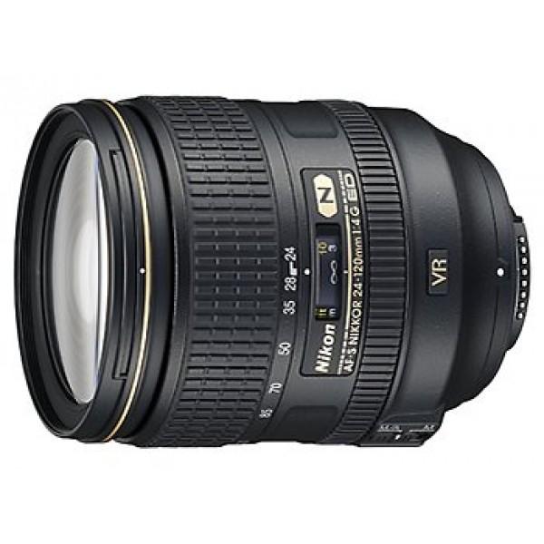 Objetivo Nikon AF-S 24-120mm f/4G ED VR (Garantía Nikon España Finicon)