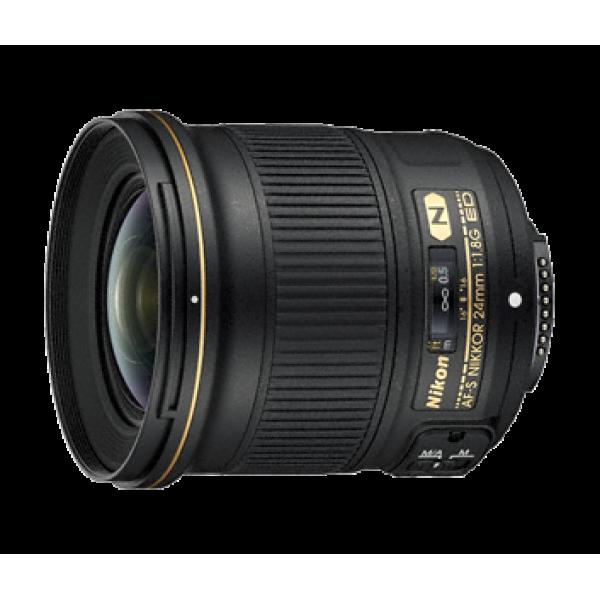 Objetivo Nikon AF-S 24mm f/1.8G ED (Garantía Niko...