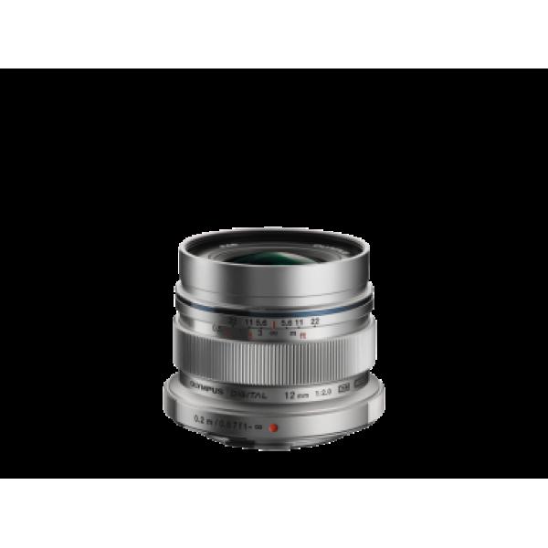 Objetivo Olympus M.Zuiko Digital ED 12mm 1:2.0 Sil...