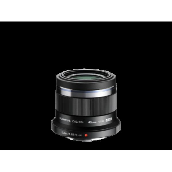 Objetivo Olympus M.Zuiko Digital 45mm Negro 1:1.8 ...