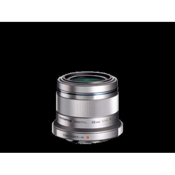 Objetivo Olympus M.Zuiko Digital 45mm 1:1.8 Silver...