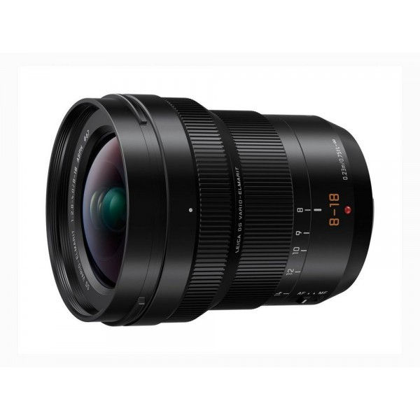 Objetivo Panasonic LEICA DG 8-18mm f/2.8-4.0 ASPH Ref: H-E08018 (garantía Panasonic España)