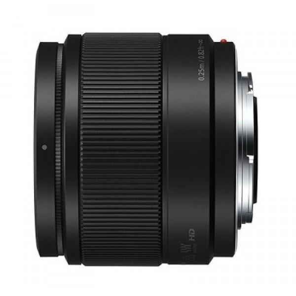 Objetivo Panasonic 25mm f1.7 lumix G Ref: H-H025EK (Garantía Española)