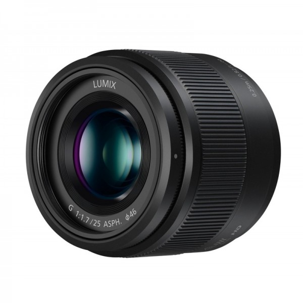 Objetivo Panasonic 25mm f1.7 lumix G Ref: H-H025EK...
