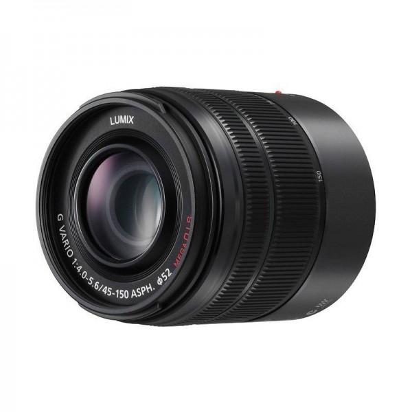 Objetivo Panasonic 45-150mm f4-5.6 asph o.i.s. Ref...