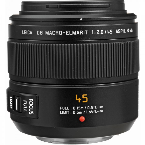 Objetivo Panasonic Leica DG Macro 45mm F/2.8 Mega O.I.S (Garantía Panasonic España)