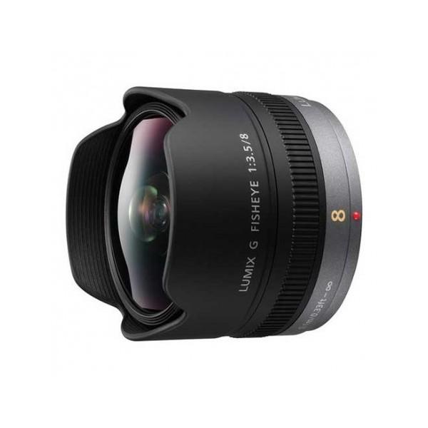 Objetivo Panasonic ojo de pez 8mm F/3.5 (Garantía...