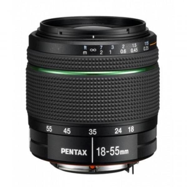 Objetivo Pentax DA 18-55mm f/3,5-5,6 AL WR