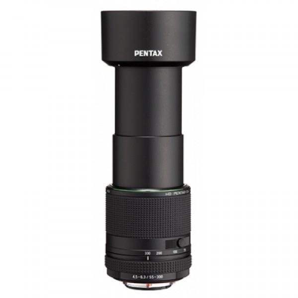 Objetivo Pentax HD DA 55-300mm F4.5-6.3 ED PLM WR RE