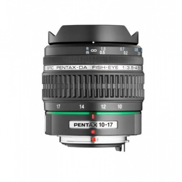 Objetivo Pentax DA 10-17mm Fish Eye f/3.5-4.5 ED (...