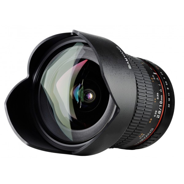 Samyang 10mm F2.8 ED AS NCS CS Fuji X (Garantía E...