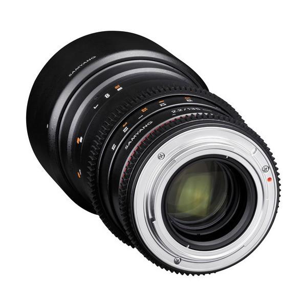 Samyang 135mm T2.2 VDSLR Nikon (Garantía España) Ref: SAM135T22NIKON