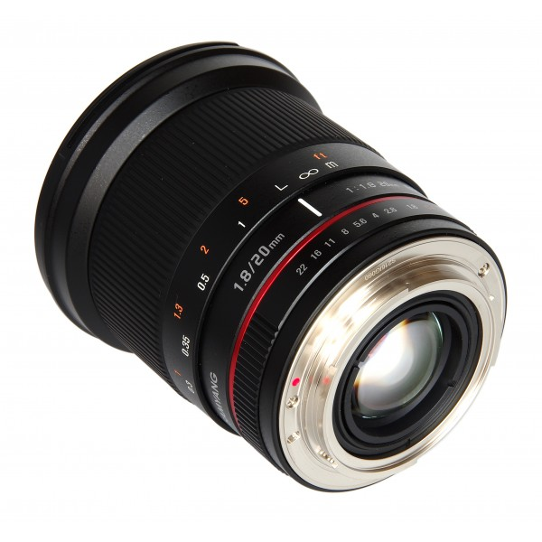 Samyang 20mm F1.8 ED AS UMC Sony A (Garantía Espa...