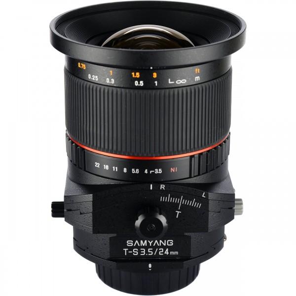Samyang 24mm T-S F3.5 Canon (Garantía España) Re...