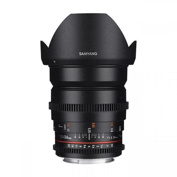 Samyang 24mm T1.5 VDSLR II Micro 4/3 (Garantía Es...