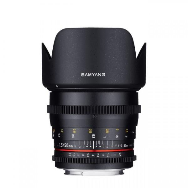 Samyang 50mm T1.5 VDSLR Canon (Garantía España) ...
