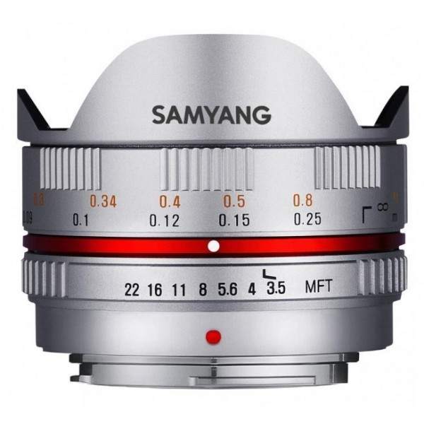 Samyang 7.5mm F3.5 UMC Fisheye Micro 4/3 Color Pla...