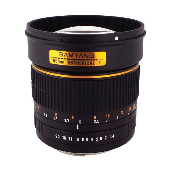 Samyang 85mm F1.4 AS IF Canon (Garantía España) ...