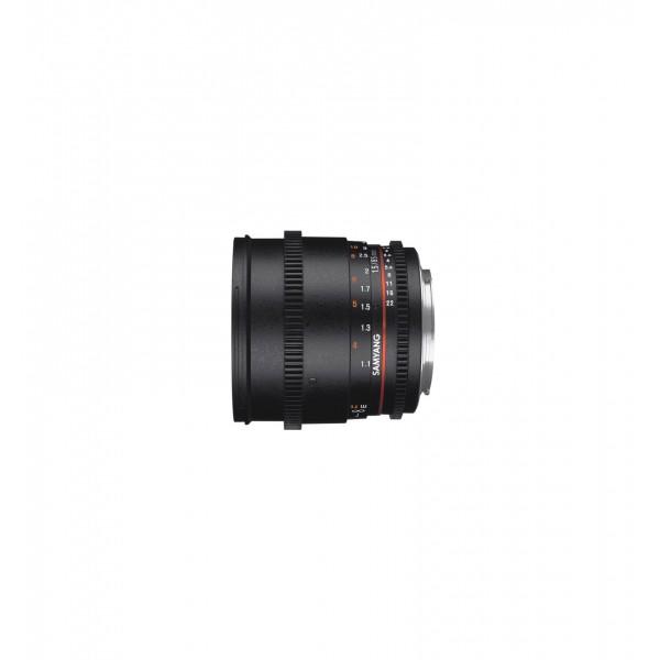 Samyang 85mm T1.5 VDSLR II Nikon (Garantía España) Ref: SAM85T15NIKONII