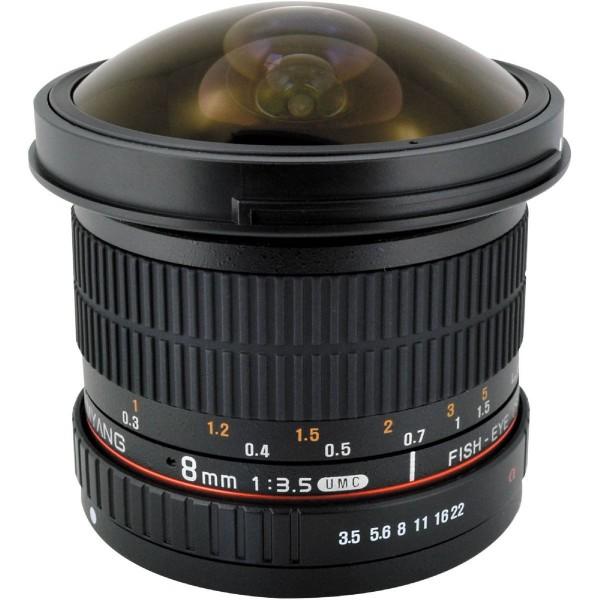 Samyang 8mm F3.5 UMC CS II Fisheye Sony A (Garant�...
