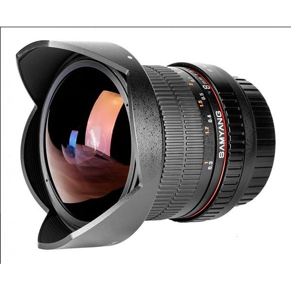 Samyang 8mm F3.5 UMC CS II Fisheye Pentax K (Garan...
