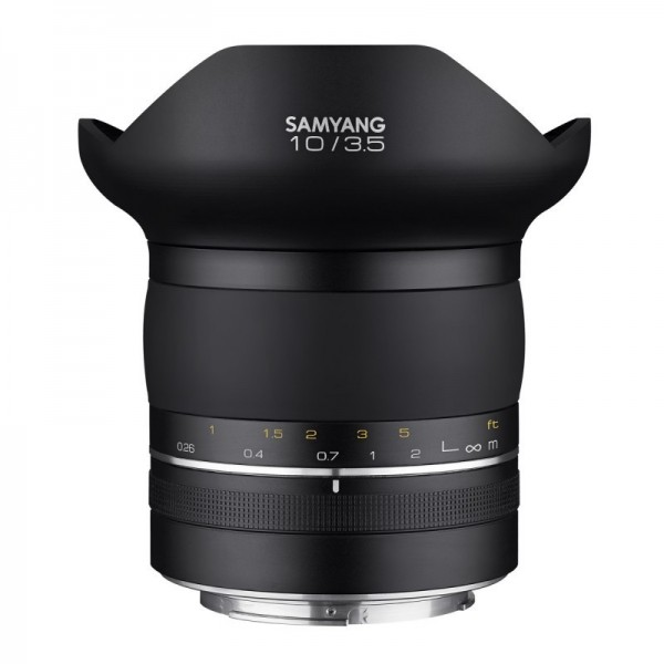 Samyang XP 10mm F3.5 Canon AE  Ref: SAMXP10F35CANO...