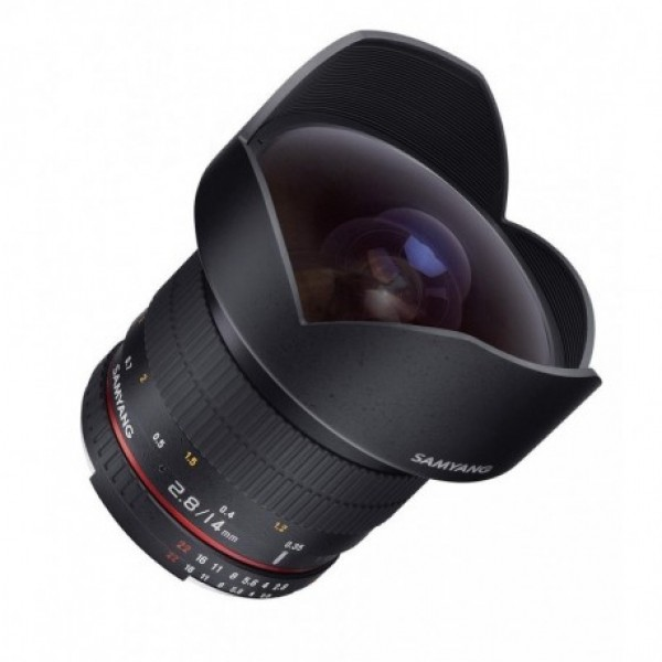 Samyang 14mm F2.8 ED AS IF UMC Canon AE Ref: SAMCA...