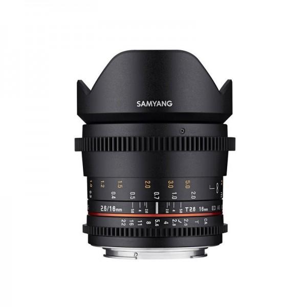 Samyang 16mm T2.6 VDSLR Canon Ref: SAM16T26CANON