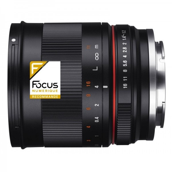 Samyang 50mm F1.2 AS UMC CS Fuji X  Ref: SAM50F12F...