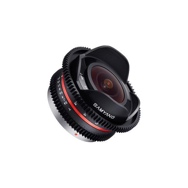Samyang 7.5mm T3.8 Fisheye Cine Micro 4/3 (Garant�...