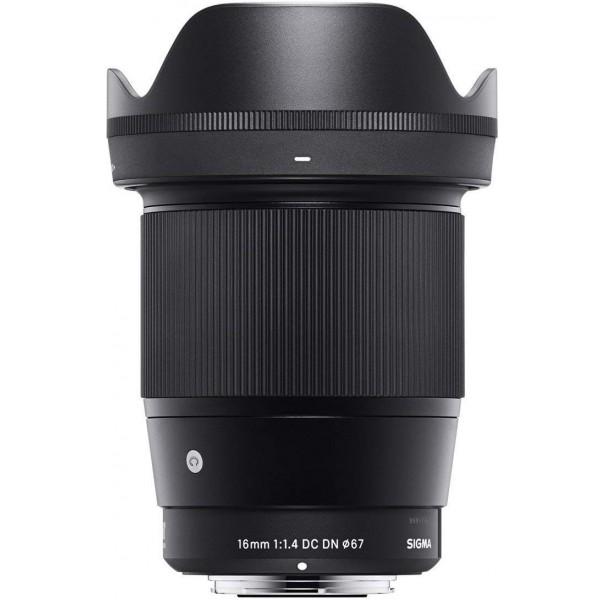 Objetivo Sigma 16mm f/1.4 DC DN Montura Sony-E (Consultar)