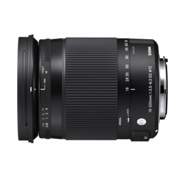 Objetivo Sigma 18-300mm F3.5-6.3 DC MACRO OS HSM Contemporary Montura Canon