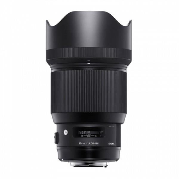 Objetivo Sigma 85mm f/1.4 DG HSM Art Montura Sony-E