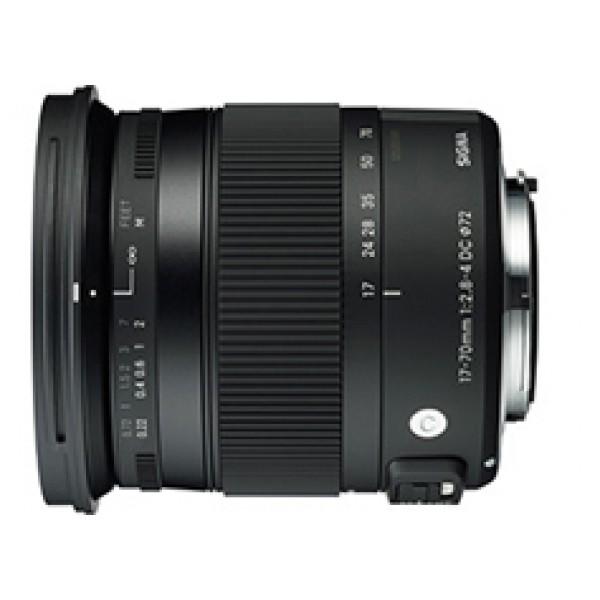Objetivo Sigma 17-70mm F2.8-4 DC MACRO OS HSM SERI...