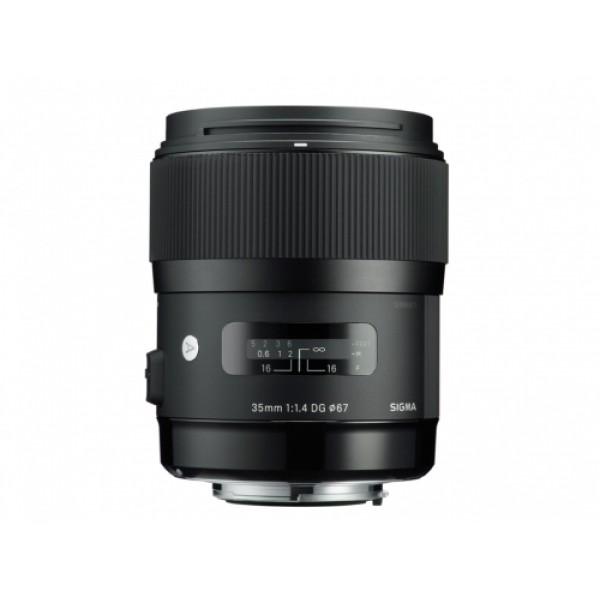 Objetivo Sigma 35mm F1.4 DG HSM Art Montura Sony-E...