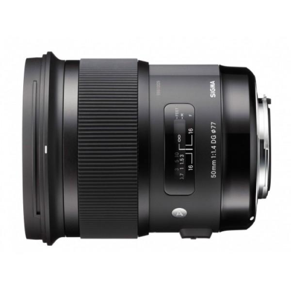 Objetivo Sigma 50mm F1.4 DG HSM Art Montura Canon