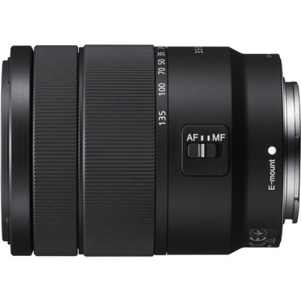 Objetivo Sony E 18-135mm F3.5-5.6 OSS Ref: SEL18135 (Garantía Sony España)