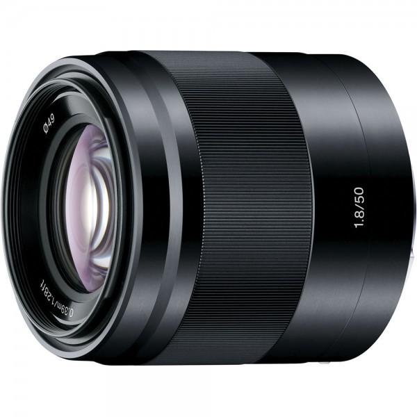 Objetivo Sony E 50mm F1,8 OSS Ref: SEL50F18B (Gara...