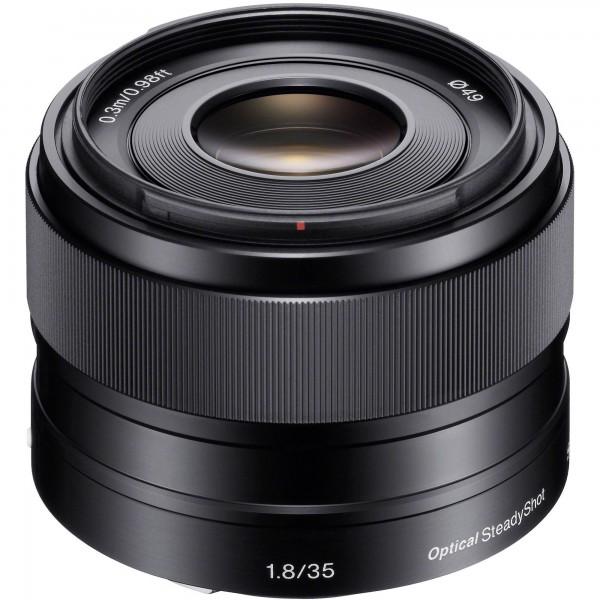 Objetivo Sony E 35mm F1,8 OSS Ref: SEL35F18 (Garantía Sony España)