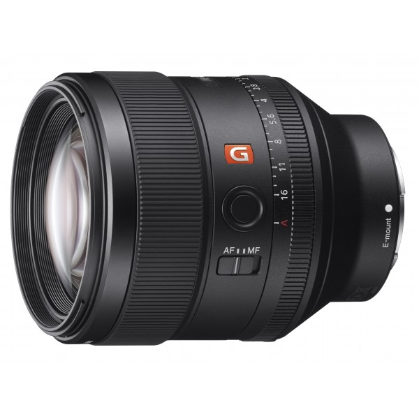 Objetivo Sony FE 85mm f/1,4GM (Garantia Sony Espa�...
