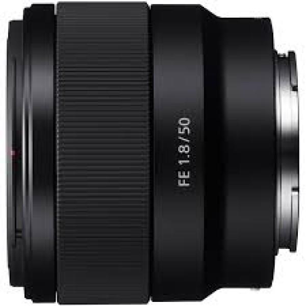 Objetivo Sony FE 50mm F1,8 OSS Ref: SEL50F18F (Garantía Sony España)
