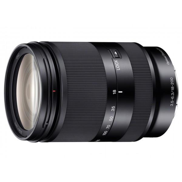 Objetivo Sony E 18–200mm F3,5–5,6 OSS LE (Gara...