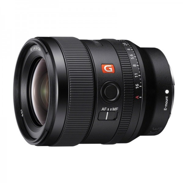 Objetivo Sony FE 24mm f/1.4 GM Ref: SEL24F14GM (Garantía Sony España) (En Stock)