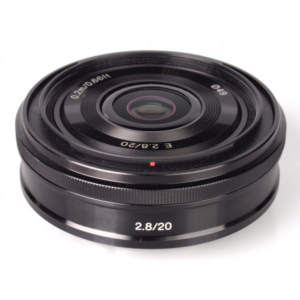 Objetivo Sony E 20mm f/2,8 (SEL20F28) (Garantía S...