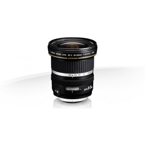 Objetivo Canon EF-S 10-22mm f/3.5-4.5 USM