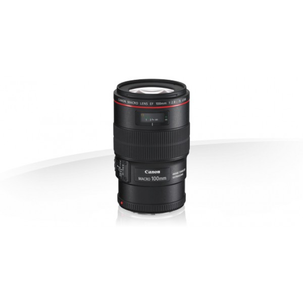 Objetivo Canon EF 100mm f/2.8L Macro IS USM (Garan...